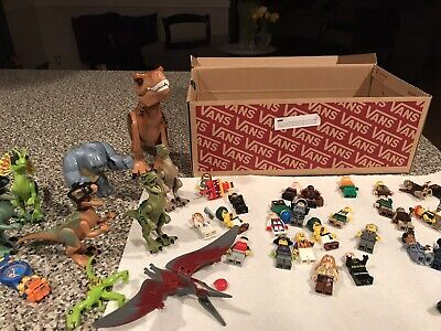 Lot Of LEGO Minifigures With Dino's And LEGO Watch
