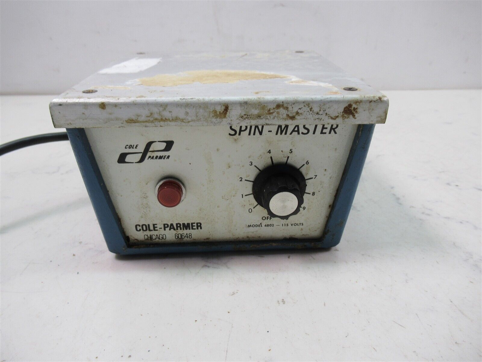 Cole Parmer Spin Master 4802 Laboratory Stirrer Mixer Unit Variable Speed