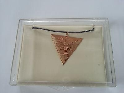 Halskette/Amulet,Kupfer/Rotgold