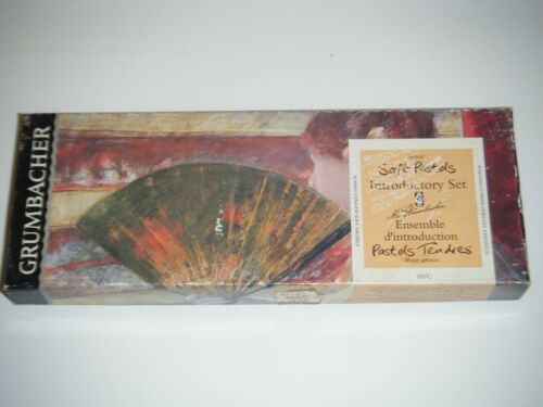 Grumbacher Artists Soft Pastels Introductory Set 00/C Includes 30 Half Length