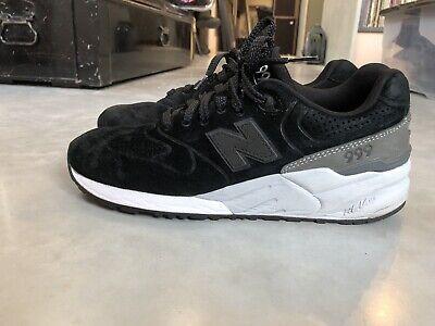 New Balance 999 MRL999BA sneakers UK7.5 Black Suede 990 991 998 goodhood