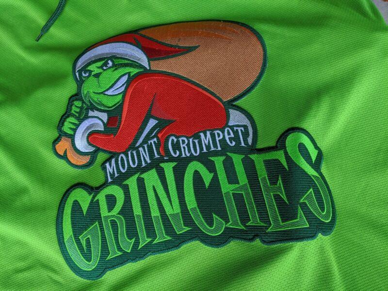 Grinch - Geeky Jerseys - Hockey Jersey - Goalie