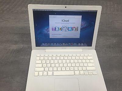 Apple White MacBook 13
