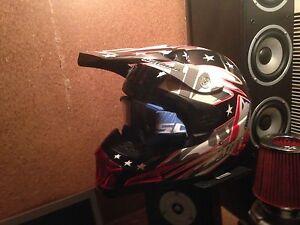 Motorbike helmet motorcycle helmet dirt bike boots Thor Para Hills Salisbury Area Preview