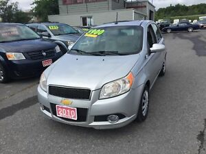 2010 Chevrolet Aveo LT HATCH BACK