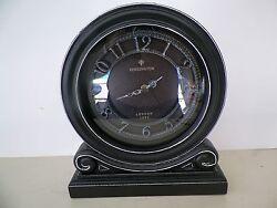 ORNATE KENSINGTON QUARTZ TABLE TOP/SHELF QUARTZ CLOCK*NO RESERVE