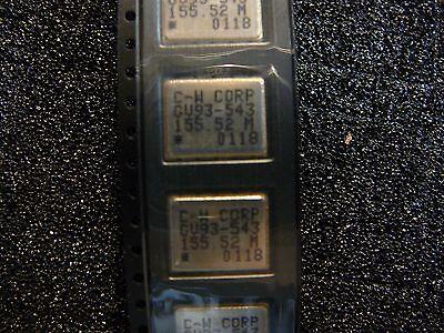 Connor Winfield Crystal Oscillator 155.52mhz Smd Pll Based Pecl Vcxo New 1pkg