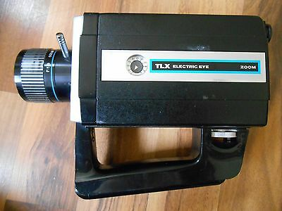 Old Vintage Film / Movie Camera TLX Electric Eye 812 Keystone with zoom lens