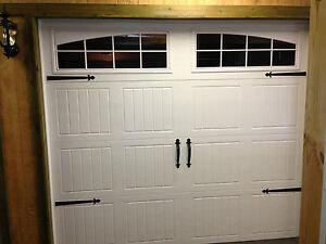 Decorative garage door hinges hardware kit 034 fleur de for Home hardware garage packages