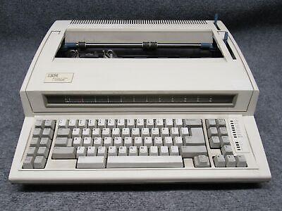 Ibm Lexmark Wheelwriter 2000 Typewriter 6786-002 Tested Working