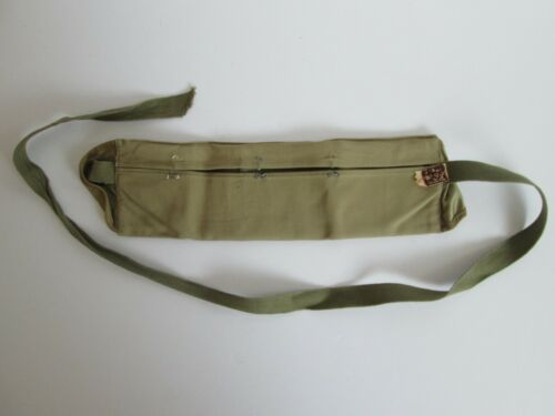 Vintage Swank Dough Boy Deluxe Money Belt Wallet Fanny Pack Travel Military OLD