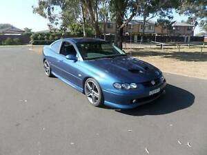 2002 Holden Monaro Supercharged CV8 Manual Coupe