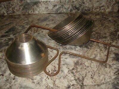61 Skimming Discs For Cream Separator With Hanger Vintage Antique Bin 985