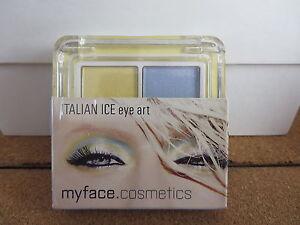 Myface cosmetics, Italian ice Eye art  eyeshadow duo new