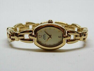 Anne Klein 10/3218-9 Gold Tone Quartz Analog Ladies Watch