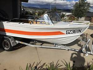Quintrex Breezeabout fishing boat Wright Molonglo Valley Preview