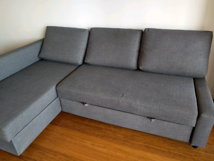 IKEA L shape sofa cum bed in excellent condition..