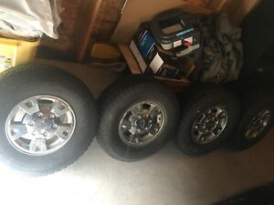 Chevorlet truck rims and tires