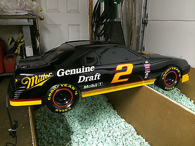 NASCAR Miller Genuine Draft MGD Rusty Wallace Pool Table Light