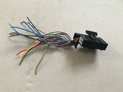GENUINE VW GOLF JETTA MK2 WIRING LOOM SPEEDO CLOCK REPAIR CONNECTOR PLUG SOCKET