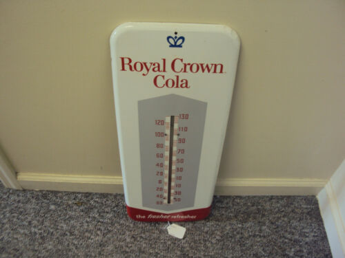 VINTAGE ADVERTISING ROYAL CROWN COLA THERMOMETER    529-Q