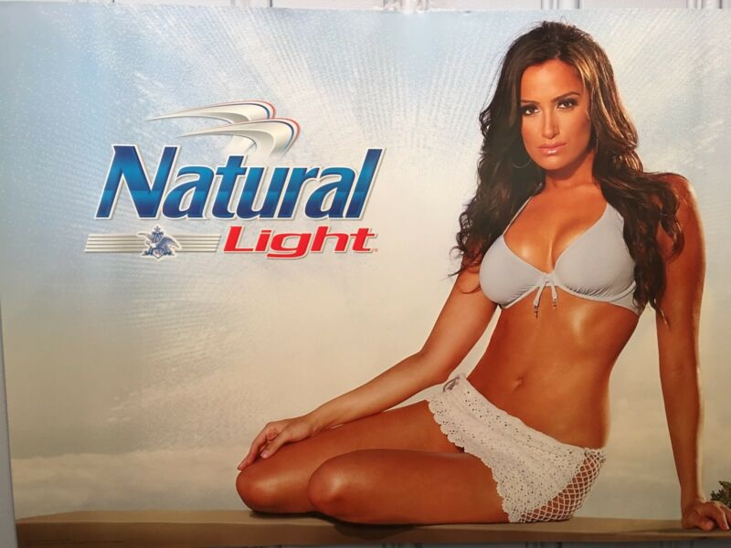 Natural Light Sexy Girl Poster