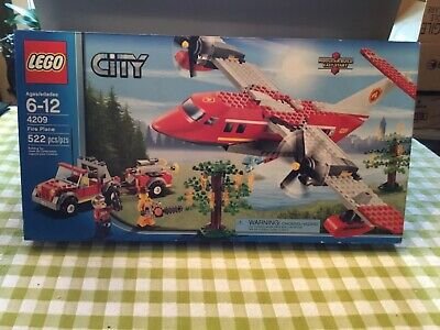 NEW LEGO CITY FIRE PLANE, SET 4209!!