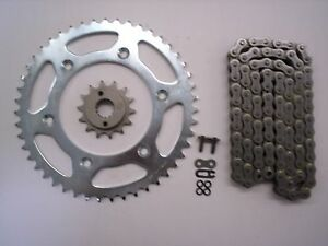 HONDA XR650R XR 650 R SPROCKET 14/48 & EK SRO O-RING CHAIN SET STOCK GEARING