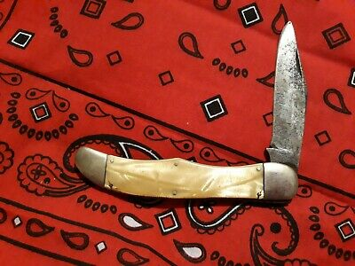 Schrade Cut Co. Walden N.Y. Vintage Folding Hunter Pocket Knife