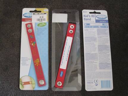 Playgro Kids ID Bracelets/Bands ($4 ea or both for $7) - BNIP Curtin Woden Valley Preview