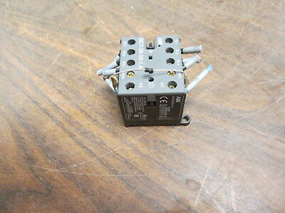 Abb Contactor Bc7-30-10-1.4 16a 600v Used