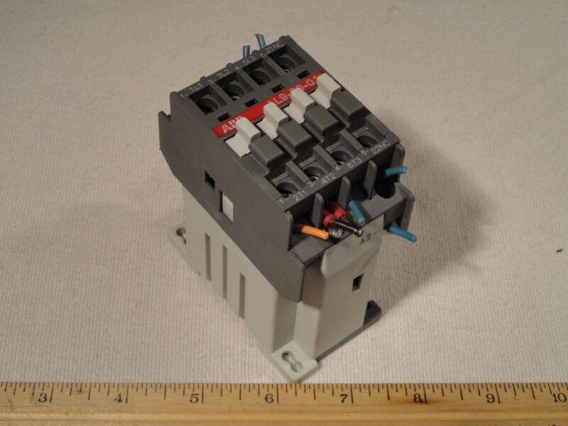 ABB AL9-30-01 Motor Starter Contactor AL9 IEC/EN 60947-4-1 GB 14048.4