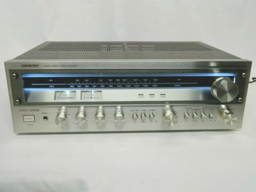 1979-80 Onkyo TX-2500 MKII - 40WPC - Restored - Tested - Nice!
