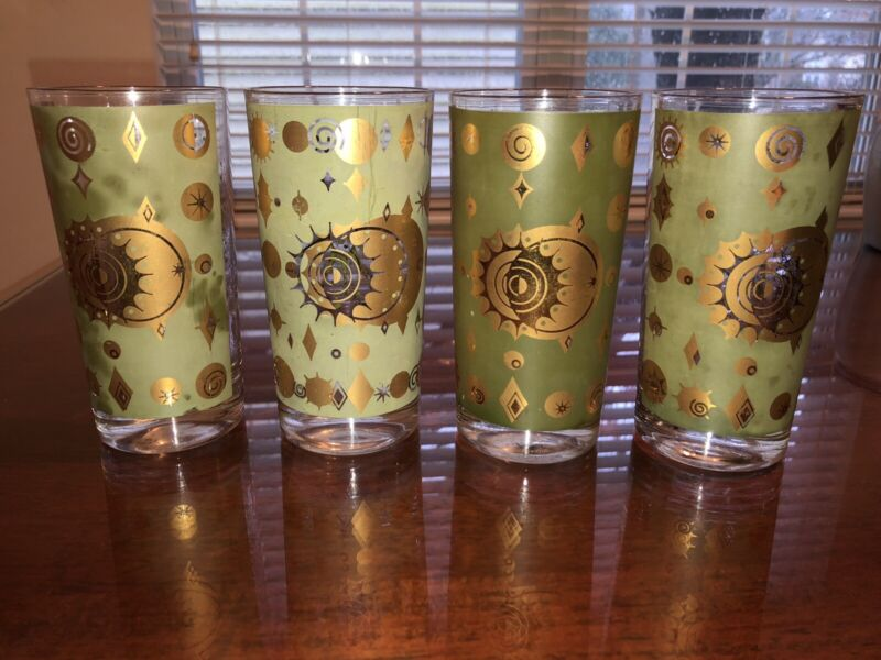 Vintage Fred Press Starburst Glasses