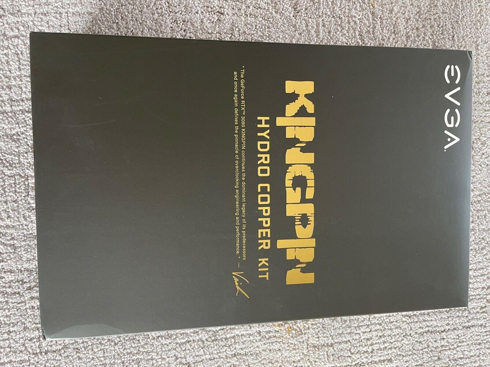 EVGA KINGPIN RTX 3090 HydroCopper Kit Waterblock Only, No Card , NEW  - $820.00