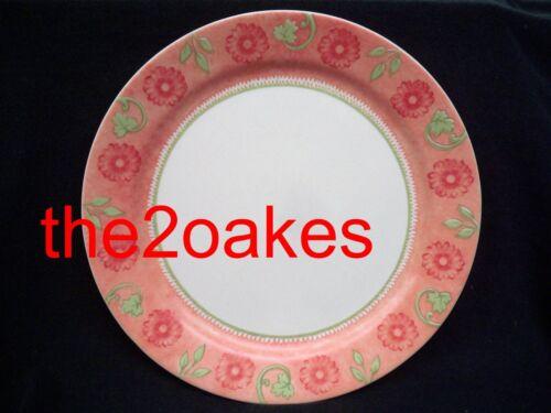 "4 Corelle HEIRLOOM BLOOM 10-1/4"" Dinner Plates"