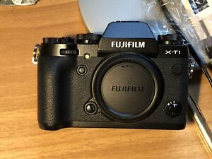 Fujifilm XT1 Black Camera Body Immaculate
