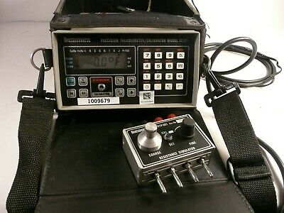 Beamex Tc-301 Precision Thermometer Calibrator W Case Power Supply Simulator