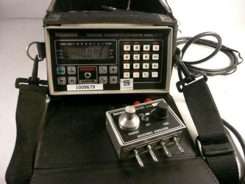 * BEAMEX TC-301 PRECISION THERMOMETER CALIBRATOR W CASE POWER SUPPLY & SIMULATOR