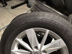 195/65R15 2015 VW Golf Take Off Wheels and Tires