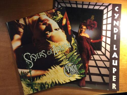 Cyndi Lauper TWO Tour Books - True Colors