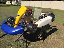Go Kart YAMAHA Kt 100J + clothes + trolley Broadbeach Waters Gold Coast City Preview