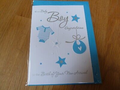 Personalised Boys Blue Sparkle 1st First Birthday WOOD PHOTO PANEL FRAME F19