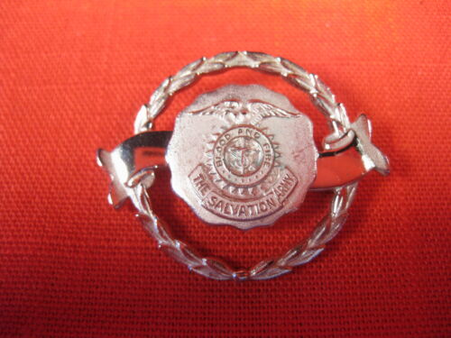 SALVATION ARMY PIN VINTAGE  CREST WITH EAGLE  BROOCH