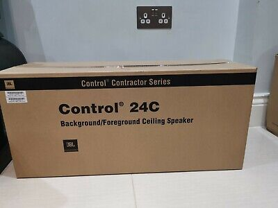 2 X JBL Control-24C Background / Foreground Ceiling Loudspeakers