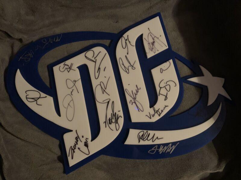 Custom Signed DC Sign Cast Piece RARE RARE RARE