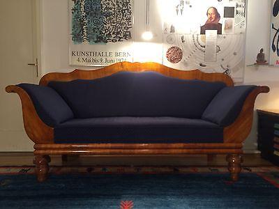 Schönes, großes Biedermeier Sofa
