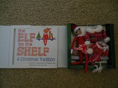 The Elf On The Shelf Girl Elf Extra Outfit & Book Set