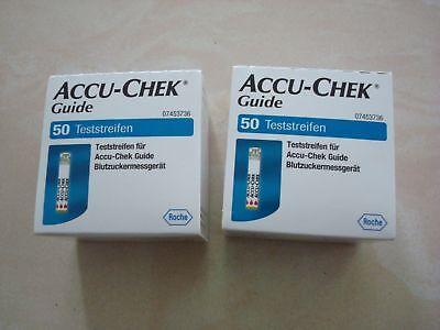 Preissenkung !!! SUPERANGEBOT !!! Accu Check Guide 100 Teststreifen !
