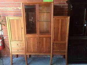 CABINET, Sideboard, Display cabinet,Tasmanian Myrtle,WE DELIVER Brunswick Moreland Area Preview